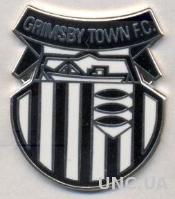футбол.клуб Гримсби (Англия) ЭМАЛЬ / Grimsby Town FC, England football pin badge