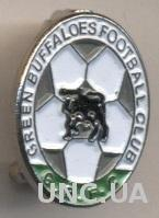 футбол.клуб Грин Баффалоc (Замбия) тяжмет / Green Buffaloes, Zambia football pin