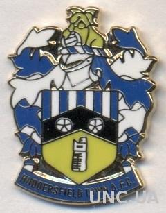 футбол.клуб Хаддерсфилд (Англия) ЭМАЛЬ /Huddersfield T.AFC, England football pin
