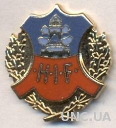 футбол.клуб Хельсингборг (Швеция)2 ЭМАЛЬ / Helsingborgs IF, Sweden football pin