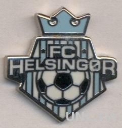футбол.клуб Хельсингер (Дания) ЭМАЛЬ / FC Helsingor, Denmark football pin badge
