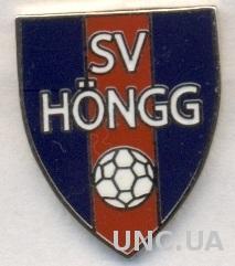 футбол.клуб Хенг Цюрих(Швейцария) ЭМАЛЬ /SV Hongg,Switzerland football pin badge