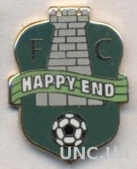футбол.клуб Хэппи Энд (Молдова) ЭМАЛЬ / FC Happy End, Moldova football pin badge
