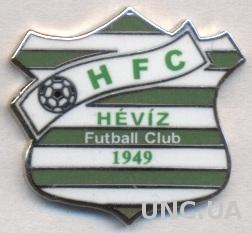 футбол.клуб Хевиз (Венгрия), ЭМАЛЬ / Heviz FC, Hungary football enamel pin badge