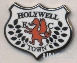 футбол.клуб Холиуэлл (Уэльс), ЭМАЛЬ / Holywell Town FC, Wales football pin badge