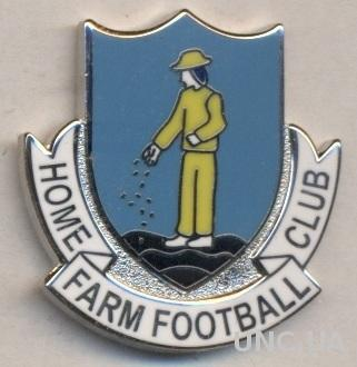 футбол.клуб Хоум Фарм (Ирландия) ЭМАЛЬ / Home Farm FC,Ireland football pin badge