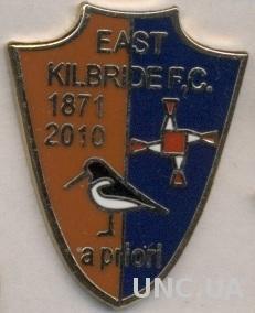 футбол.клуб Ист Килбрайд (Шотландия) ЭМАЛЬ / East Kilbride,Scotland football pin