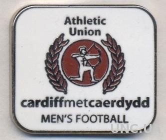 футбол.клуб Кардифф МЮ (Уэльс) ЭМАЛЬ /Cardiff Metropolitan U.,Wales football pin