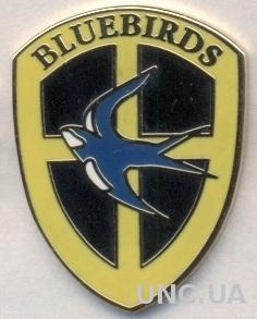 футбол.клуб Кардифф Сити (Уэльс->Англия)4 ЭМАЛЬ / FC Cardiff City football pin