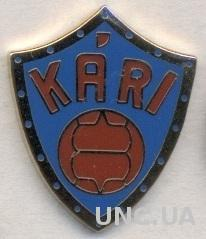 футбол.клуб Кари Акранес (Исландия) ЭМАЛЬ / KF Kari Akranes,Iceland football pin