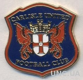 футбол.клуб Карлайл (Англия)ЭМАЛЬ /Carlisle United FC,England football pin badge