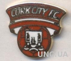 футбол.клуб Корк Сити (Ирландия)3, ЭМАЛЬ / Cork City, Ireland football pin badge