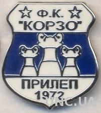 футбол.клуб Корзо (Македония) ЭМАЛЬ / Korzo Prilep, Macedonia football pin badge