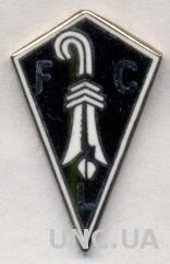 футбол.клуб Лауфен (Швейцария) ЭМАЛЬ / FC Laufen, Switzerland football pin badge