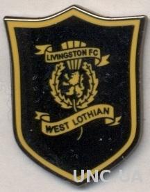 футбол.клуб Ливингстон (Шотландия), ЭМАЛЬ / Livingston FC, Scotland football pin