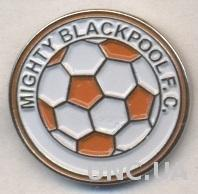 футбол.клуб МБ (Сьерра-Леоне) тяжмет /Mighty Blackpool,Sierra Leone football pin