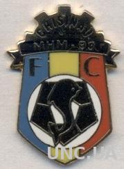 футбол.клуб МХМ-93(Молдова) ЭМАЛЬ /FC MHM-93 Chisinau,Moldova football pin badge