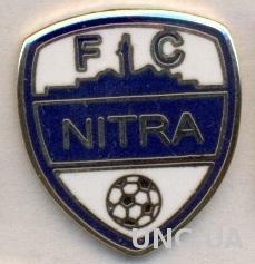 футбол.клуб Нитра (Словакия) ЭМАЛЬ / FC Nitra,Slovakia football enamel pin badge