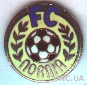 футбол.клуб Норма Таллин (Эстония) ЭМАЛЬ / Norma Tallinn, Estonia football badge