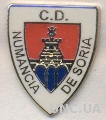футбол.клуб Нумансия (Испания) ЭМАЛЬ /CD Numancia Soria,Spain football pin badge