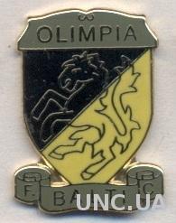 футбол.клуб Олимпия Бельцы (Молдова) ЭМАЛЬ / Olimpia Balti, Moldova football pin