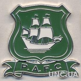 футбол.клуб Плимут (Англия), ЭМАЛЬ / Plymouth Argyle, England football pin badge