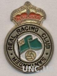 футбол.клуб Расинг Сантандер(Испан)2 тяжмет /Racing Santander,Spain football pin