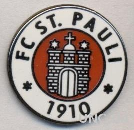 футбол.клуб Санкт-Паули (Германия) ЭМАЛЬ /FC St.Pauli,Germany football pin badge