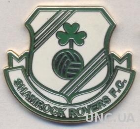 футбол.клуб Шемрок Роверс (Ирландия)4 ЭМАЛЬ / Shamrock Rovers, Ireland pin badge