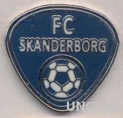 футбол.клуб Сканнерборг (Дания) ЭМАЛЬ /Skanderborg FC,Denmark football pin badge