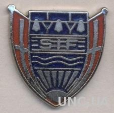 футбол.клуб Сковсховед (Дания) ЭМАЛЬ / Skovshoved IF, Denmark football pin badge