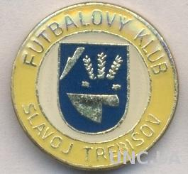 футбол.клуб Славой (Словакия), тяжмет / Slavoj Trebisov, Slovakia football badge
