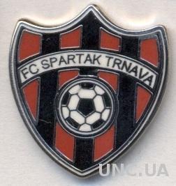 футбол.клуб Спартак Трнава (Словак)2 ЭМАЛЬ /Spartak Trnava,Slovakia football pin