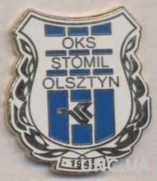 футбол.клуб Стомиль (Польша), ЭМАЛЬ / Stomil Olsztyn, Poland football pin badge