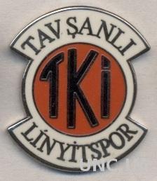 футбол.клуб Тавшанлы(Турция) ЭМАЛЬ /Tavsanli Linyit SK,Turkey football pin badge