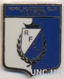 футбол.клуб Тиллер (Бельгия) ЭМАЛЬ /RFC Tilleur Liege,Belgium football pin badge