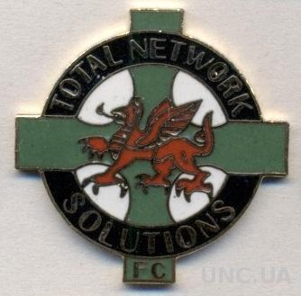 футбол.клуб ТНС (Уэльс), ЭМАЛЬ / TNS Llansantffraid FC, Wales football pin badge