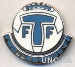 футбол.клуб Треллеборг (Швеция) ЭМАЛЬ / Trelleborgs FF,Sweden football pin badge