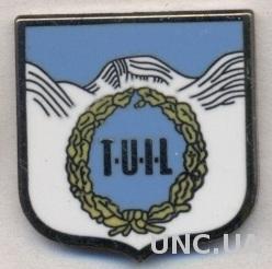 футбол.клуб Тромсдален(Норвегия) ЭМАЛЬ /Tromsdalen UIL,Norway football pin badge
