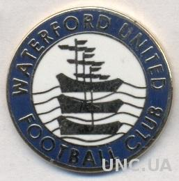 футбол.клуб Уотерфорд (Ирланд.)2 ЭМАЛЬ /Waterford AFC,Ireland football pin badge