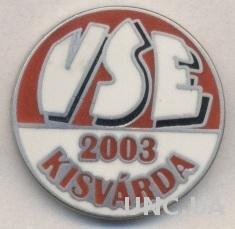 футбол.клуб Варда (Венгрия)1 ЭМАЛЬ /Varda SE Kisvarda,Hungary football pin badge