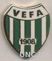 футбол.клуб Вефа Стамбул (Турция) ЭМАЛЬ /Vefa Istanbul,Turkey football pin badge