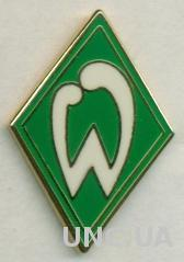 футбол.клуб Вердер Бремен (Германия) ЭМАЛЬ / Werder Bremen, Germany football pin