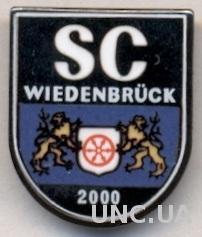 футбол.клуб Виденбрюк(Германия) ЭМАЛЬ /SC Wiedenbruck,Germany football pin badge