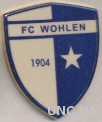 футбол.клуб Волен (Швейцария) тяжмет / FC Wohlen, Switzerland football pin badge