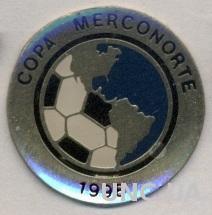 футбол, Кубок Мерконорте 1998-2001, тяжмет / football Merconorte Cup pin badge