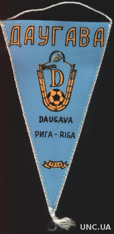 футбольный клуб Даугава Рига ( СССР ), 21х12 см