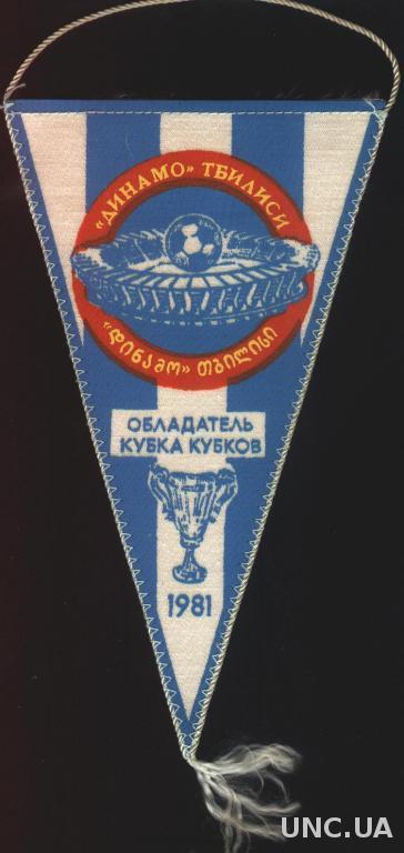 футбольный клуб Динамо Тбилиси ( СССР ), 21х12 см