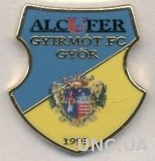 футбольный клуб Дьирмот (Венгрия)2 ЭМАЛЬ / Gyirmot FC,Hungary football pin badge