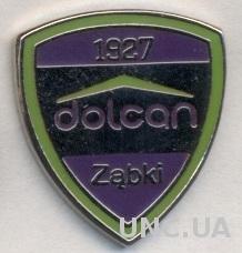 футбольный клуб Дольцан (Польша) ЭМАЛЬ / Dolcan Zabki, Poland football pin badge